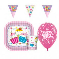 Partyware geprint cupcakes